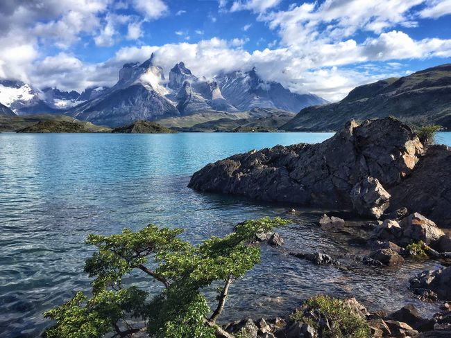 Wilderness Landscape Mountain Travel Sea Water Snow Mountain Peak Outdoors Nature No People Sky Day Patagonia Chile The Great Outdoors - 2017 EyeEm Awards