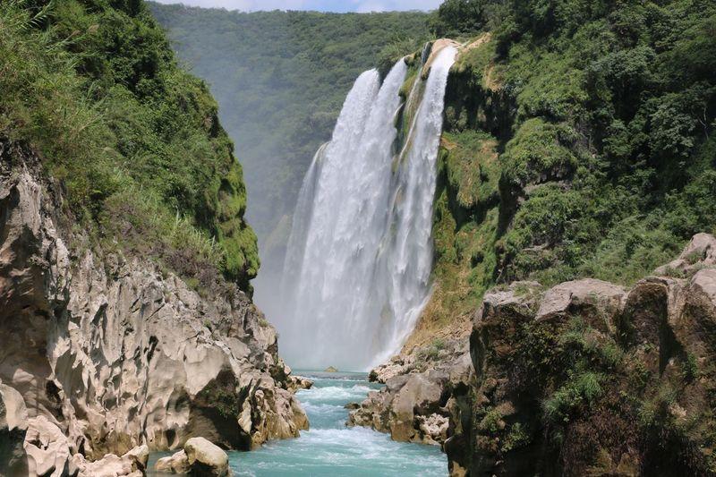 Waterfall of Tamul Water Waterfall Motion Long Exposure Scenics - Nature Beauty In Nature My Best Travel Photo My Best Travel Photo