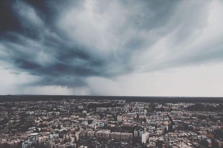 Storm's coming Urban 4 Filter A Bird's Eye View