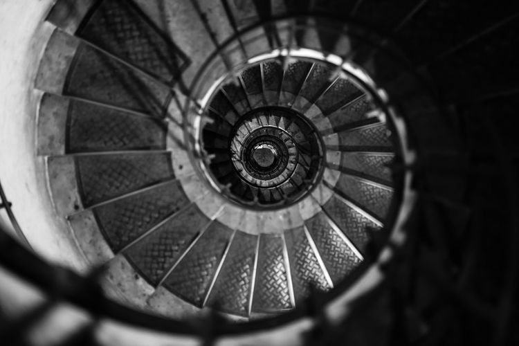 Architecture Snail Stairs Architecture Building Built Structure Circle Concentric Day Design Diminishing Perspective Directly Above Directly Below Geometric Shape High Angle View Indoors  No People Pattern Rail Railing Selective Focus Shape Spiral Spiral Staircase Staircase Steps And Staircases The Traveler - 2018 EyeEm Awards The Creative - 2018 EyeEm Awards The Architect - 2018 EyeEm Awards The Street Photographer - 2018 EyeEm Awards Capture Tomorrow