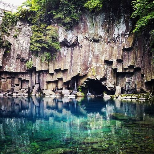 Beauty of nature ! Cheonjeyeon Jeju Jejuisland Korea naturelovers nature naturelover