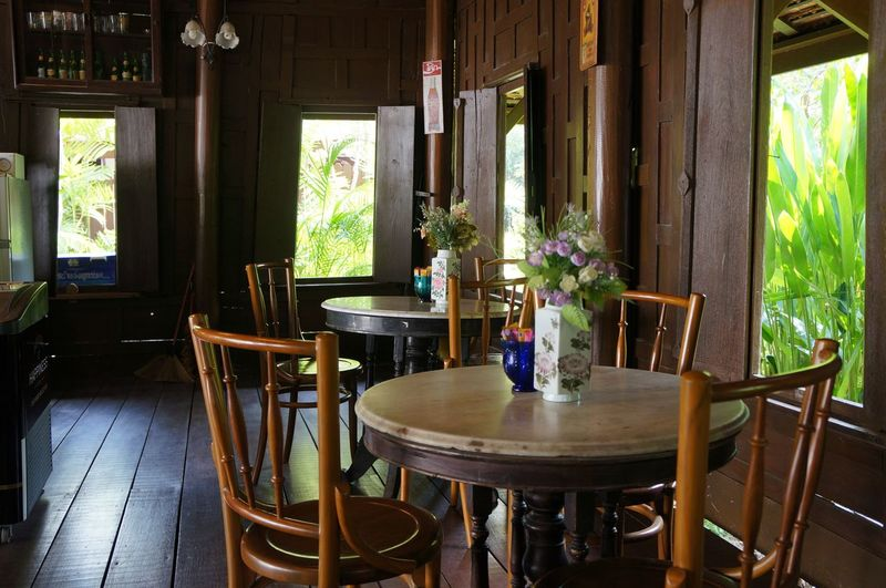 Coffee shop Chinoportuguese Cafe Chair Chinoprotugese Decorations Coffeshop Day Flower Furniture Home Interior Indoors  No People Plant Seat Table Wood - Material