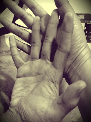 I told my 20 year old son about a story where we always used to compare his hands to mine when he was a little kid. Now, he asked me to compare my hand against his and I realized that time flew too fast. Mother And Son Maternal Love Son Mom RePicture Masculinity Hands At Work Love Family Hands Memories Things I Like Telling Stories Differently