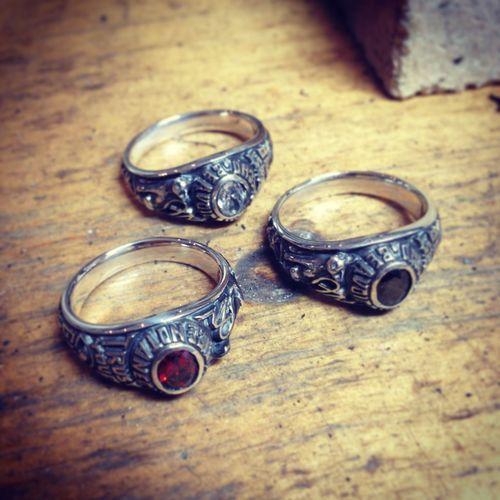 Silveraccessories Handmade Jewellery ArtWork Rings Hand Made Jewelry Cat Collegering MadetoOrder Hello World
