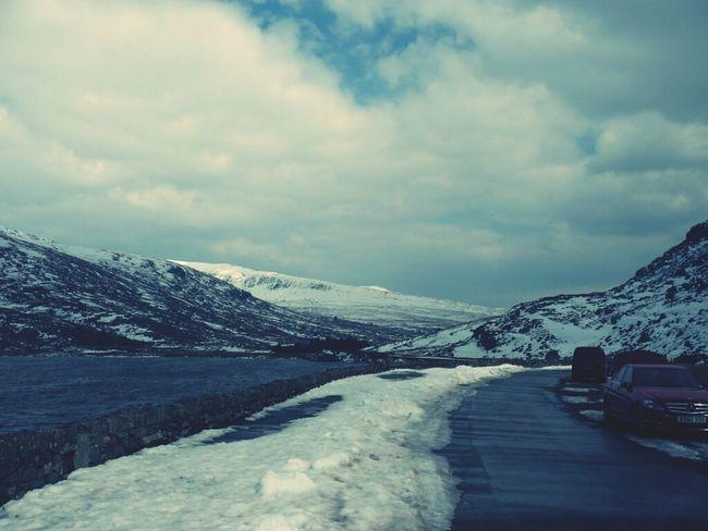 Snow Wales Frozen Lake Dani Filter