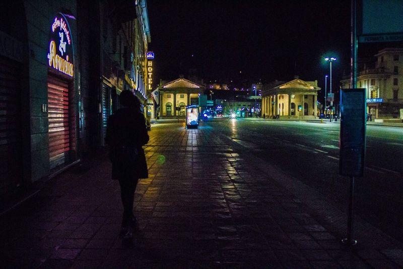 Bergamo Night