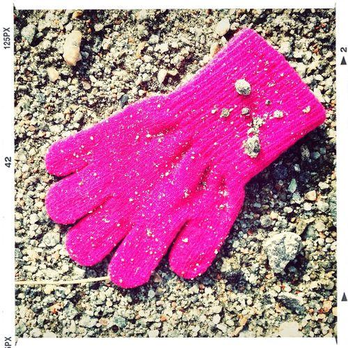 Pink Glove Lost Glove