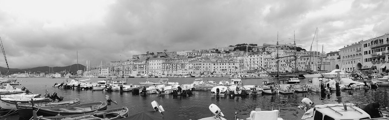 Blackandwhite Bnphotography Elbaisland Italy Mypointofview Panoramic Photography Panoramic View Portoferraio Seeing The Sights Winter