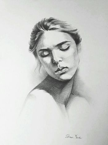 My Drawing Sketch Drawing Beauty Art