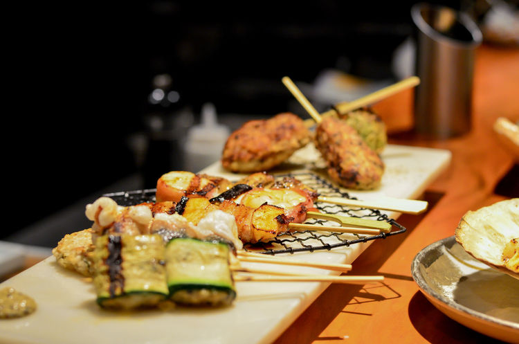 Yaki Japanese Food Barbeque Grill Seafood Grill
