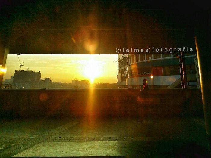 Good morning sunshine! RiseUp Sunrise Morningshift  BuhayIT Timetowork Mrt Photography Snapseed Leimeafotografia Eyeem Philippines