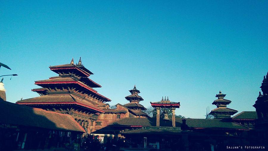 Patan Durbar Square Hello World We Will Rise Again EarthquakeNepal Help Nepal