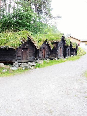 Ancient Ålesund houses, still with grass roofs. Norway Landscape Peaceful Place Natural Beauty Serenity Nature_collection Nature_collection Alesund