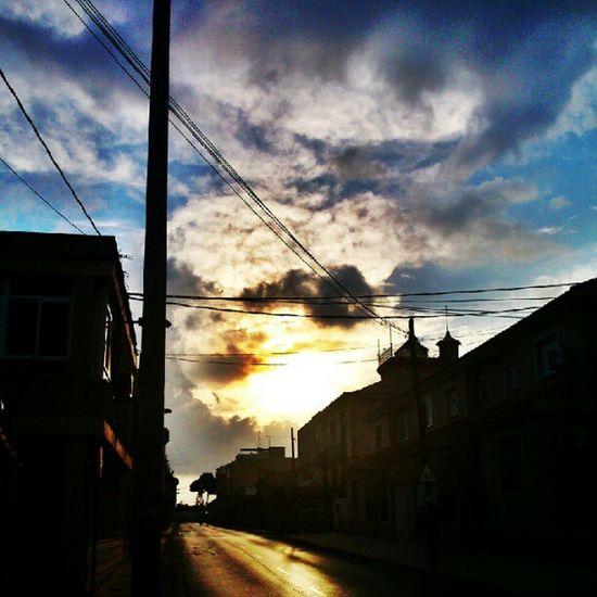 Nuclear sky. Sky Nuke Cielo Nuclear cartagena barrioperal