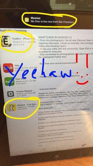 Enjoying Life Addicted to Social Meerkat App EyeEm