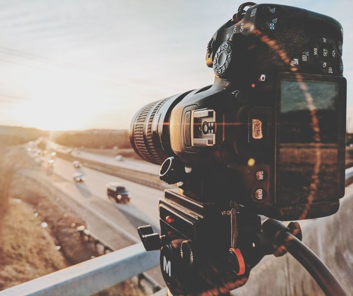 Camera - Photographic Equipment Photography Themes Adventure Travel Journey Outdoors Technology Vacations Scenics Sky Landscape No People Close-up Day Digital Single-lens Reflex Camera Drone  Film Industry