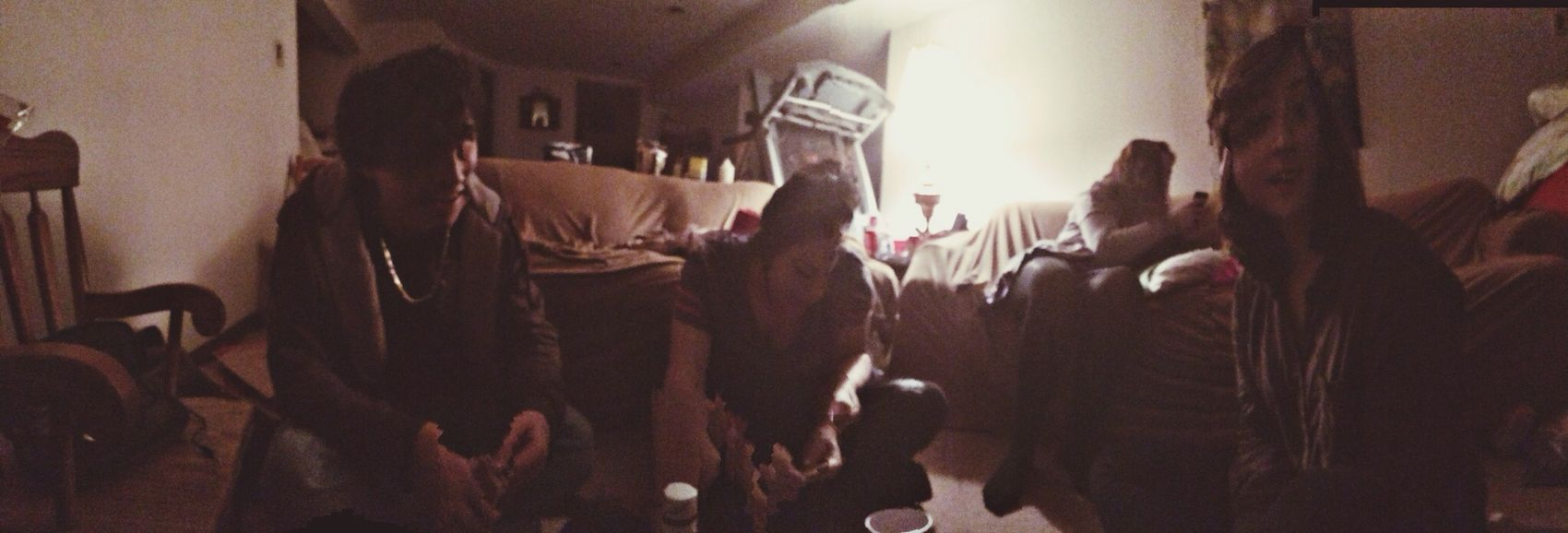 those Drunk New Years panoramas. your head is all Wonky dude