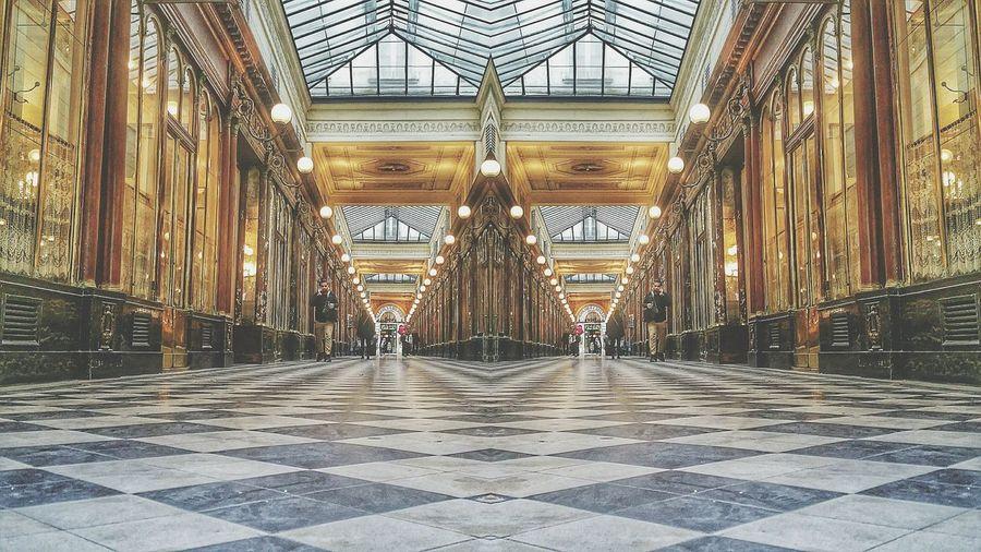 Paris Achitecture Passage Lines Ilikeitlikethat