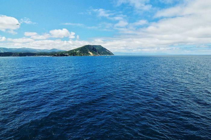 Deep Blue Sea Sea View Sea And Sky Japan Photography Memories Hello World Seascape On The Ship