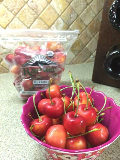 Cherry in season Fruit Cheerful Ranier Cherry