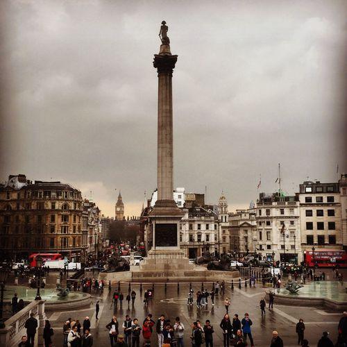 Trafalgar Square Nelsons Column Nelson's Column NelsonsColumn London