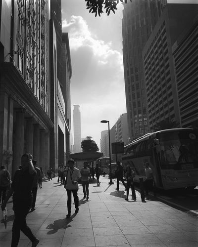 The Week On Eyem Blackandwhite Photography Streetphoto_bw Photography Eyemphotography First Eyeem Photo Makati City Ayalaavenue Philippines