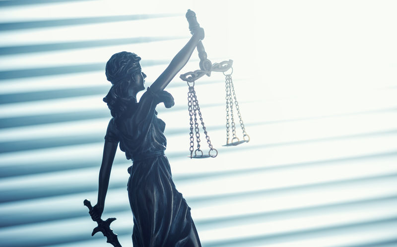 Lady Justice Statue Blind Bronze Business Crime Jury Justitia Lawyer Office Scale  Statue Balance Courthouse Courtroom Criminal Decision Equality Gavel Judge Judicial Justice Law Legal Light And Shadow Statue Of Justice Symbol