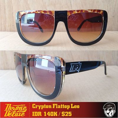 Crypton Flattop Leopard. Throne39 Fall Catalogue Sunglasses eyeglasses . Online order to : +62 8990 125 182.
