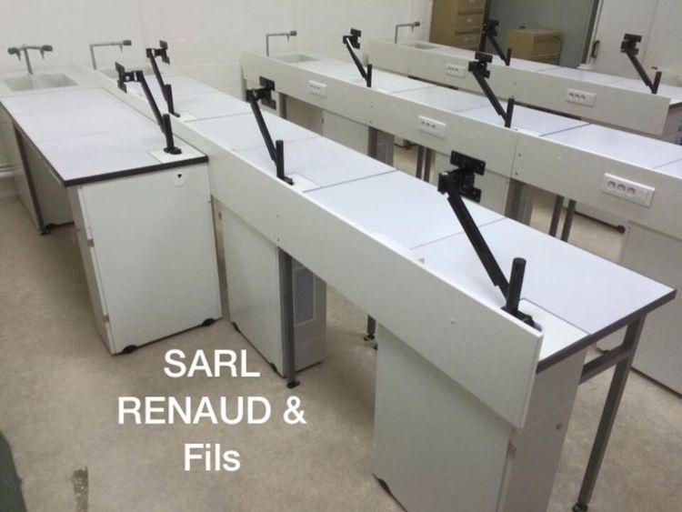 Sarlrenaudetfils Sarl-renaud-et-fils.com Paillasse Laboratoire Agencement Lorraine Alsace Paris Enseignement Svt