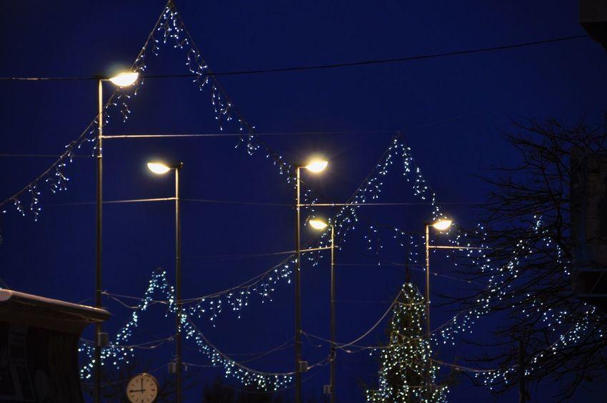Magic moment Christmas Lights Christmas Decorations Urban City City Life Silhouette