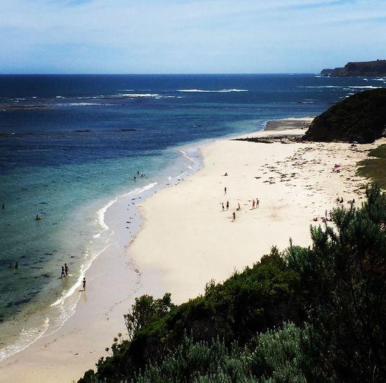 Flinders Beach Sea Beach Land Water Sky Horizon Over Water Scenics - Nature Horizon Sand Nature Outdoors Beauty In Nature