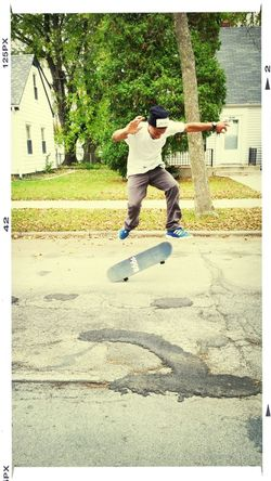 That's Me Check This Out Sk8life Hanging Out Kickflip