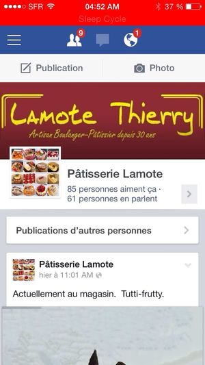 Come-on ! Patisserie Pastry Facebook Add Me On Facebook