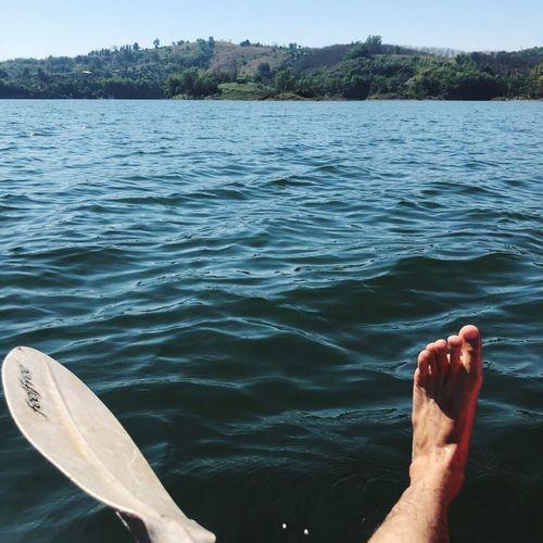 Water Human Leg