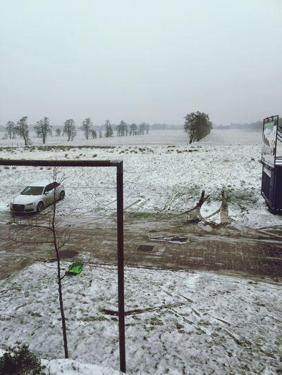Sneeuw in Friesland Ureterp Friesland Ijzel Sneeuw