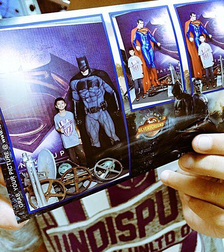 BatmanVSupermanDawnOfJustice MOVIE Photobooth Photography Eyeemphotography Photooftheday Nowshowing Batman Superman Wonderwoman Godvman Amazing Story Superheroes Gotham Smallville  Captured Moment Souvenir Remembrance Memoire Batman ❤