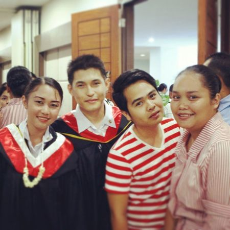 After the ceremony of our graduation dayCenxa Late Upload