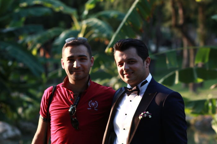 Smokin Friendship Canonphotography nofilternoeditNofilterneeded ☺☺ Outdoors People Two People Wedding Standing Smiling Handsome