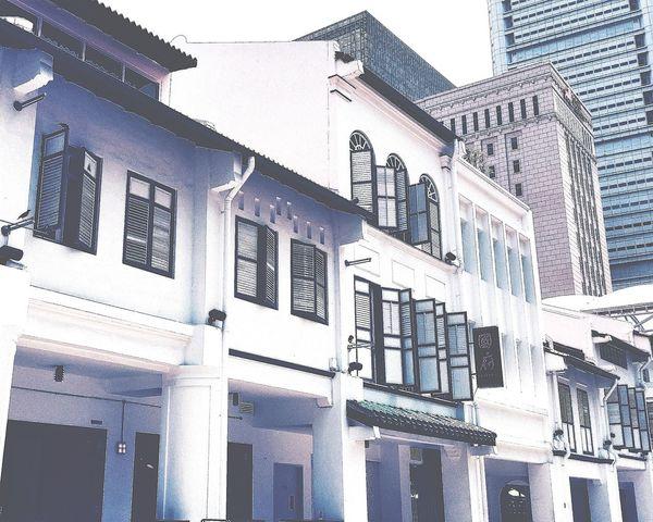 Singapore Shophouse Buildings Architecture