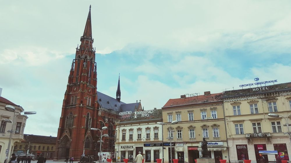 Check This Out Taking Photos Hello World Cathedral Osijek, Croatia Beutiful City