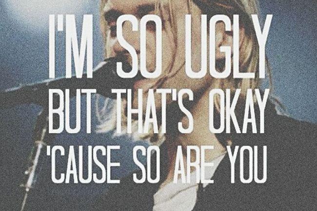 Idol Kurtcobain Grunge Nirvana Lithium Lyrics