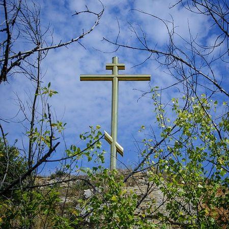 курган Самара крест Cross christianity