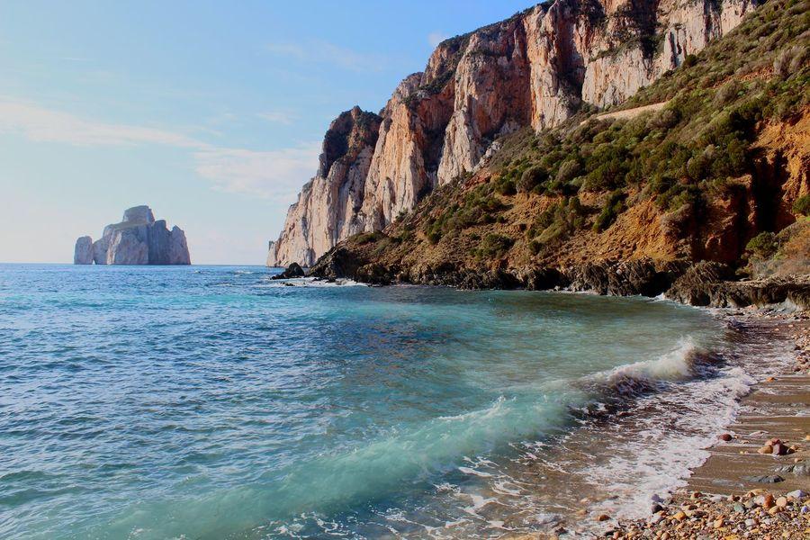 pan di zucchero - masua Sardinia Masua Italy Pandizucchero Panorámica Sea Colors Nature #sulcis Nebida Sud Vacanze Benvenutoalsud Costa #spiaggia Spiaggesarde Canon Canon1300d Scoglio Sfumature Ajo