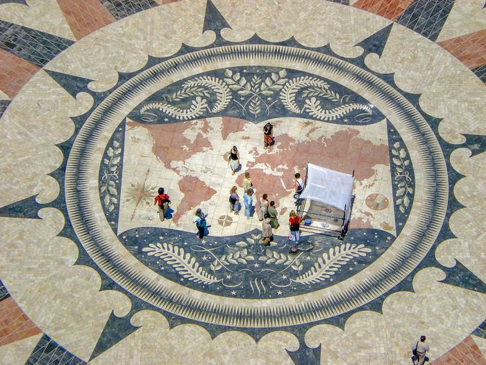Portuguese Portugal Portuguese Speakers Circle Map Lilliput Lisbon Better Look Twice