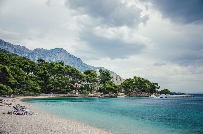 Adriatic Adriatic Sea Adriaticsea Baskavoa Croatia Montagnes Nature Sea Sea And Sky Sky Sunset Water