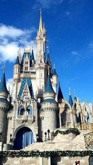 Disneyland Disney Castelo Architecture USA Photos Travel Destinations Perfeição