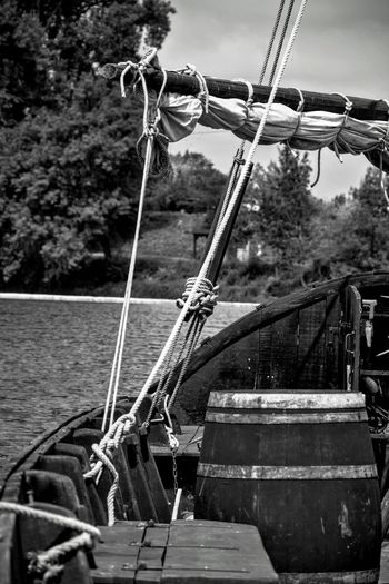 Black And White Collection  Blackandwhite Photography Black & White Boat Gabarre
