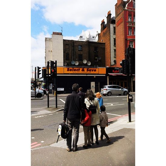 // Select & Save // Backing People People Photography Family Traffic Lights Street Photography Crossroads Urban Life Lerone-frames Streetphoto_color Penguin Urban Infrastructure