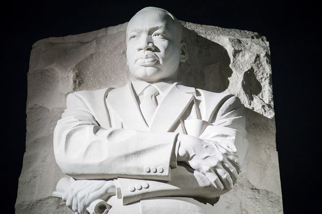 Art Black Background Civil Rights  Close-up Craft Creativity Martin Luther King Jr Martin Luther King Memorial  Memorial No People Sculpture Statue Tourism Washington, D. C.