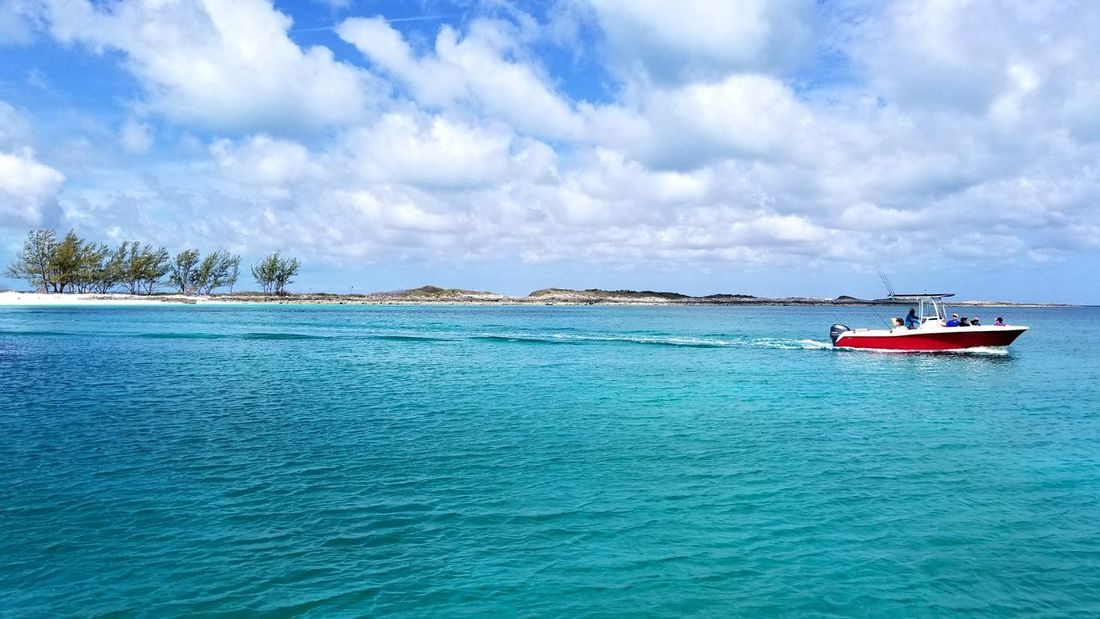 Horizon Over Water Water Island Nature Beauty In Nature Tranquility Scenics Idyllic Landscape Turquoise Colored Travel Destinations Blue Day Sea Sea Life 100 Days Of Summer